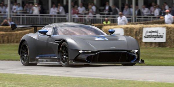 L'Aston Martin Vulcan à Spa-Francorchamps
