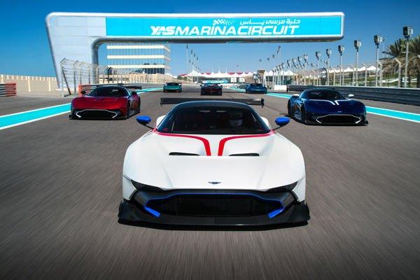 Le programme Aston Martin Vulcan est lancé