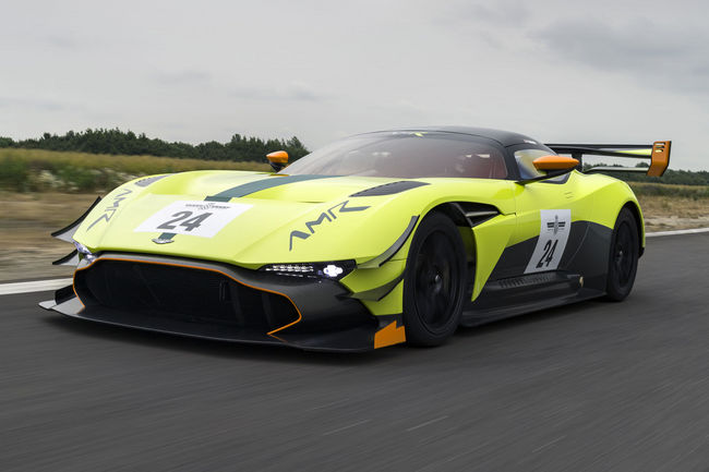 Aston Martin Vulcan AMR Pro : radicale