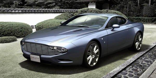 Zagato fête les 100 ans d'Aston Martin