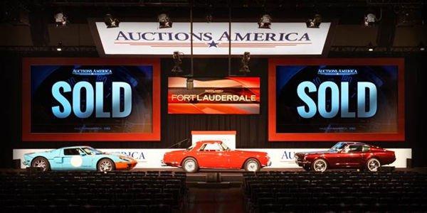 Vente Auctions America à Fort Lauderdale