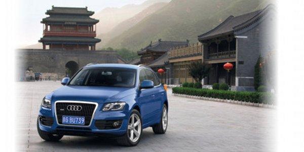 Chine : Audi en pleine forme