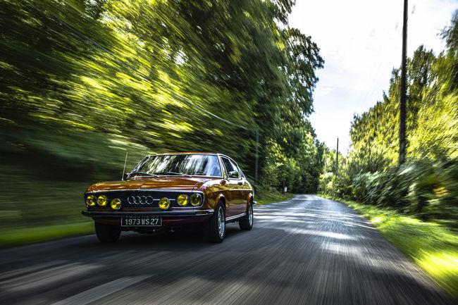 Portraits de passionnés : l'Audi 100 Coupé S
