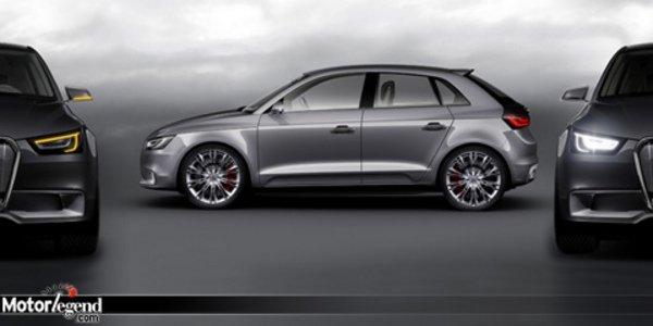 L'Audi A1 se précise