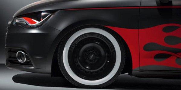 L'Audi A1 se déguise
