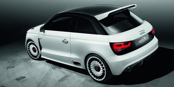 Audi A1 Clubsport Quattro, bodybuildée