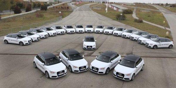L'Audi A1 e-tron en test à Munich
