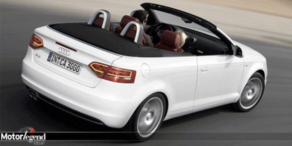 L'Audi A3 Cabriolet toujours plus propre