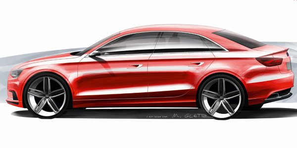 Audi A3 Concept : A3 berline !