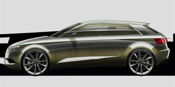 Audi A3, une e-Tron et des croquis