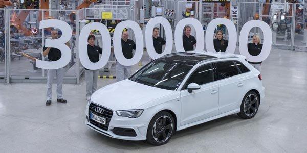 3 millions d'Audi A3 en circulation
