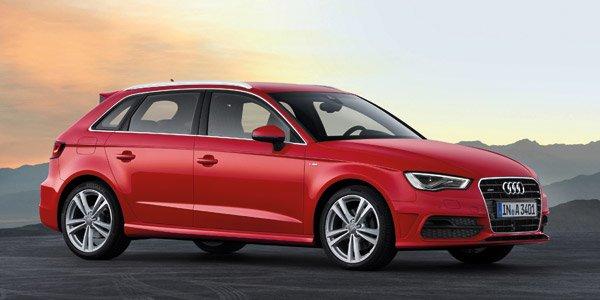 La nouvelle Audi A3 Sportback 2013