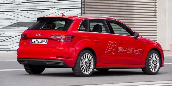 Audi lance son A3 Sportback e-tron