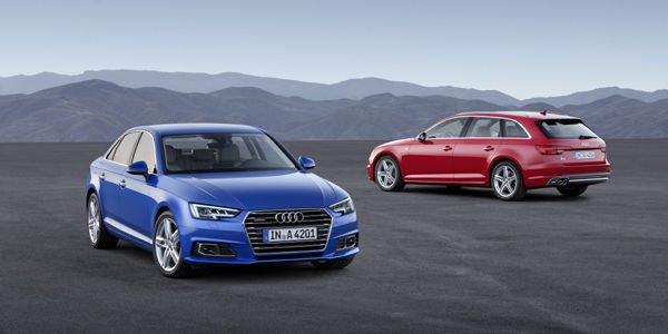 Nouvelles Audi A4 berline et Avant (2015)