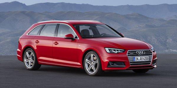 Nouvelles Audi A4 et A4 Avant : les tarifs