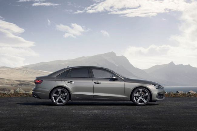 L'Audi A4 passe au restylage