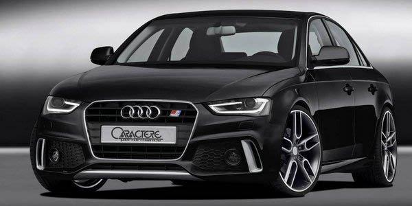 Caractere s'occupe des Audi A4 et S4