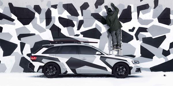 Audi A4 Avant Jon Olsson Camo Édition