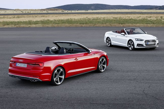 Nouvelles Audi A5 et S5 Cabriolet