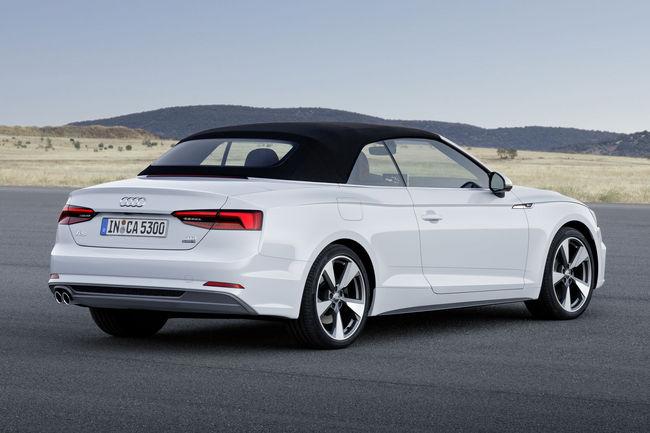 Audi A5 Cabriolet : à partir de 48 900 €