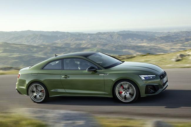 Audi A5 restylée : ouverture des commandes