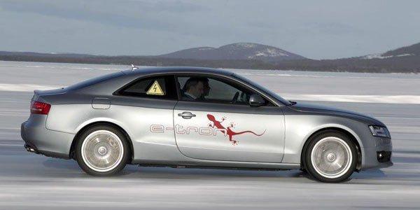 Audi A5 e-Tron, Quattro électrique