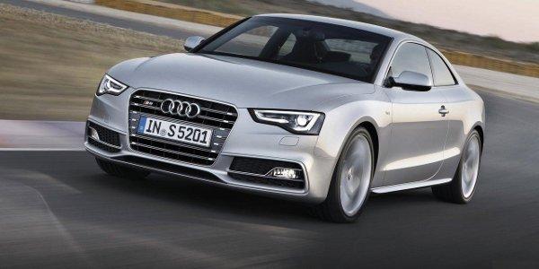 La gamme Audi A5 restylée à Francfort