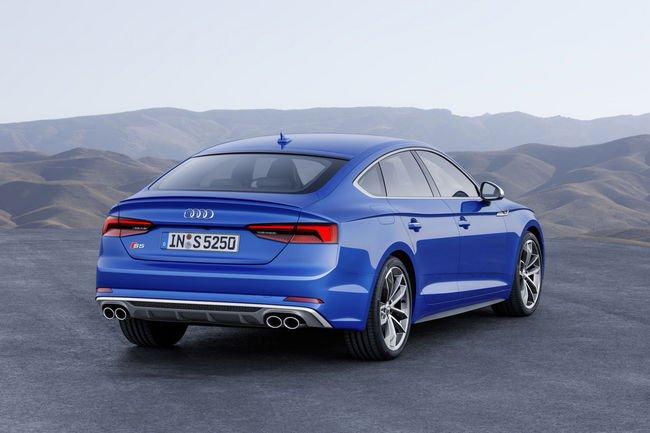 Nouvelles Audi A5 et S5 Sportback