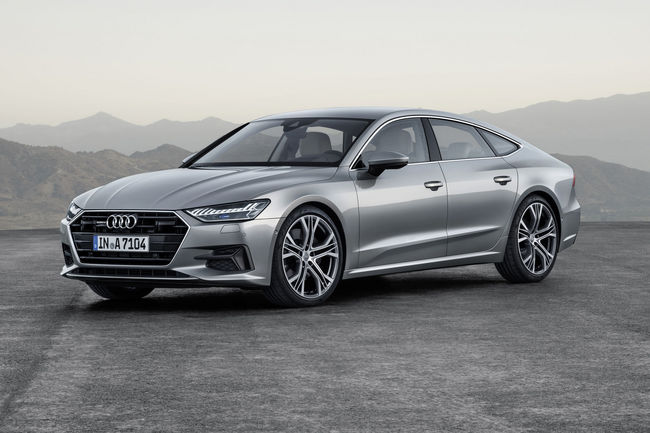 Audi A7 Sportback : ouverture des commandes