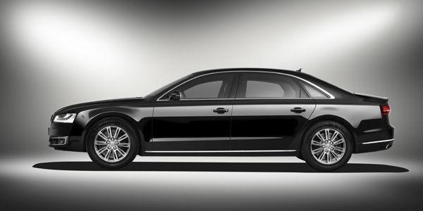 Audi A8 L Security : sécurité renforcée
