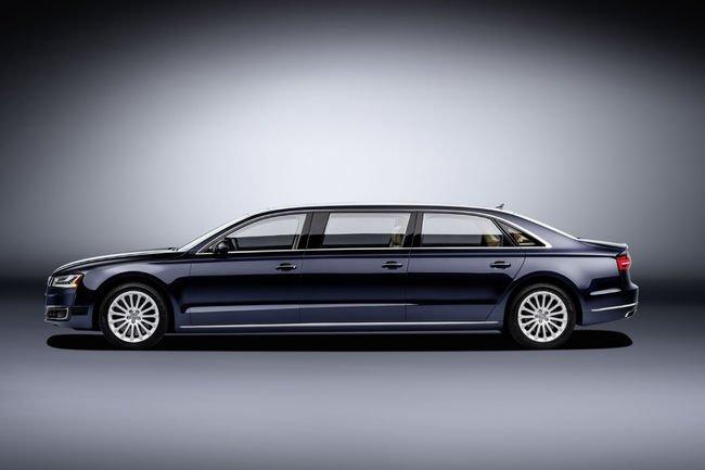 Audi A8 L extended : 6.36 mètres de luxe