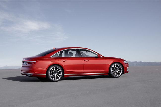 La nouvelle Audi A8 dévoilée à Barcelone
