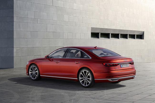 Ouverture des commandes de la nouvelle Audi A8
