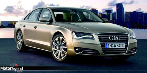L'Audi A8 est enfin arrivée !