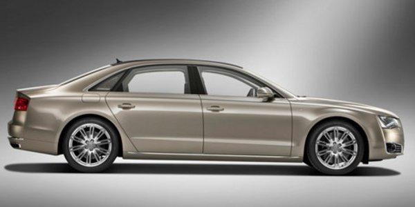 L'Audi A8 L pour Pekin