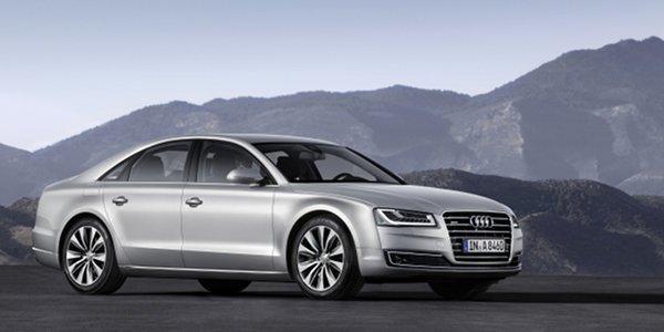 Audi A8 restylée : les prix