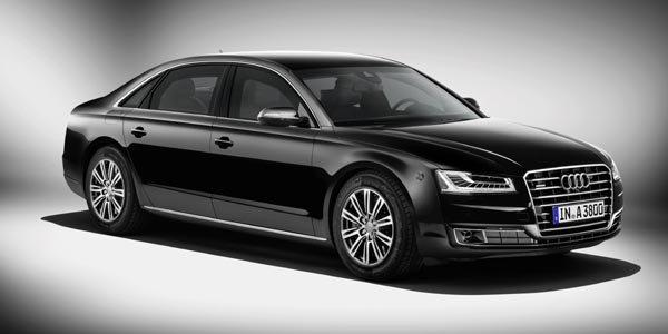 Audi A8 Security: à l'épreuve des balles