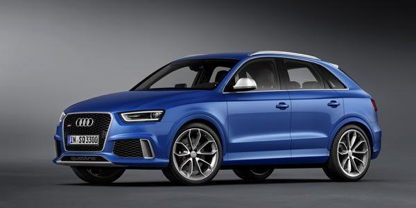 Audi agrémente son Q3 à la sauce RS