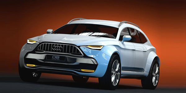 Design : Audi Q8 par Ismet Çevik