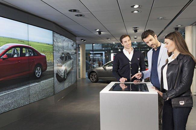 Le concept Audi City s'installe à Paris