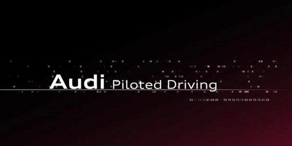 Audi Piloted Driving : conduite autonome