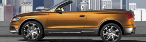 Audi Cross Cabriolet : SUV au vent