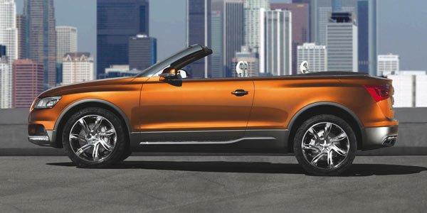 La rumeur du jour : Audi Q5 Cross Cabrio