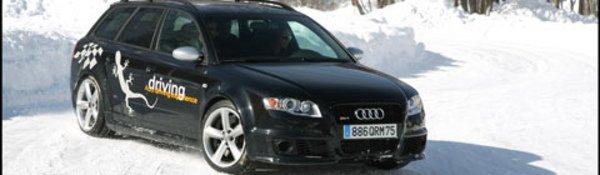 Glissades sur glace... grâce à Audi !
