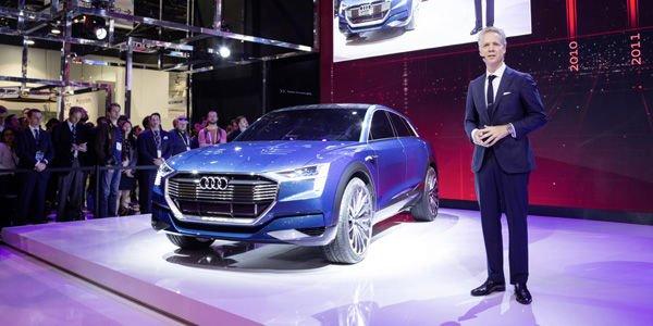 Le concept Audi e-tron quattro au CES