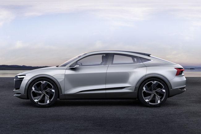 L'Audi e-tron Sportback sera produit dès 2019