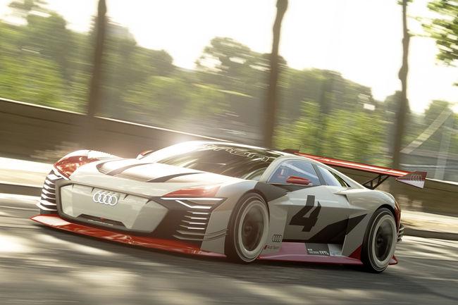 Audi e-tron Vision GT : réelle et virtuelle