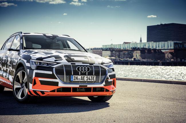 Audi présente l'e-tron Charging Service