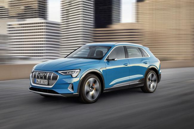 Audi lève le voile sur son SUV e-tron