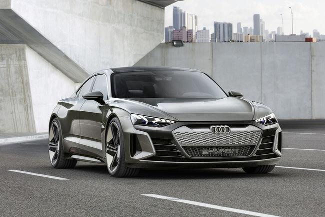 Le concept Audi e-tron GT à l'affiche dans Avengers